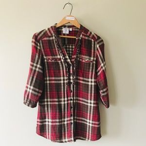 Ninety Plaid shirt